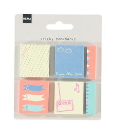 6-pack sticky bookmarks – HEMA