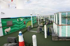 Mini Golf Course Eastern Caribbean Cruises, Jewel Of The Seas, Cruise Port, Barbados, Golf Courses, Fair Grounds, Mini, Travel, San Juan
