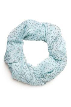 ShopSosie Style : Blue Pebbles Scarf