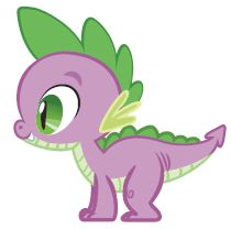 Last but not least, Takoda's costume. Spike the dragon. This may prove to be the most challenging. ;o)
