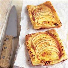 Apple and Grana Padano tartlets - http://www.deliciousmagazine.co.uk/#