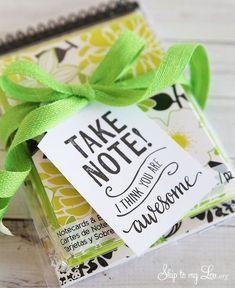 Score some cute notepads - Thoughtful Teacher Appreciation Day Ideas That Won't Break the Bank - Photos