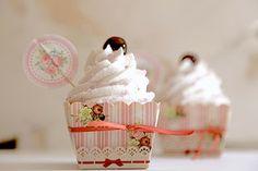 Il Laboratorio delle Torte: Cupcake all'amarena