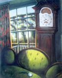 "Rachel Ellis Kaufman - ""My Grandfather,"" 1992, 22"" x 17"", pastel on paper"