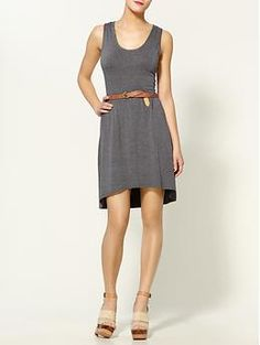 "Hive and Honey ""Abbot Kinney dress"".  I'm loving the high low hem lines lately. $49"