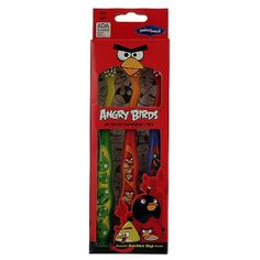 Angry Birds Smile Guard Toothbrush [Set of 3]. These cute Angry Birds toothbrushes were designed with little teeth in mind! Includes 3 soft bristled toothbrushes with suction cup base.