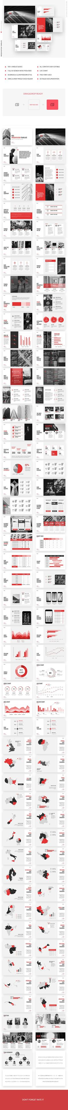 Red Business Marketing Keynote Template