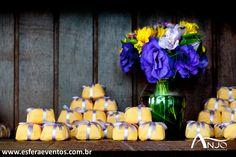 » Blog Archive Decoração de Casamento: amarelo e roxo