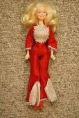 Dolly Parton--None of my other dolls' clothes would fit her!