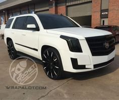 Lexani Wheels, the leader in custom luxury wheels.  Cadillac Escalade on CSS-15