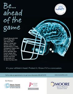 Sports Medicine Concussion Center- get educated!