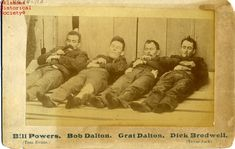 Poster-DALTON GANG, The bodies of William Powers (aka Tom Evans), Robert poster sized print mm) made in Australia
