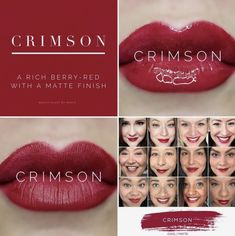 Crimson LipSense is an absolutely gorgeous color you will want for Fall! A deep burgundy red that won't budge or smudge. New Limited Edition LipSense. Red Lipsense, Lipsense Lip Colors, Lipstick Colors, Red Lipsticks, Makeup Collage, Senegence Makeup, Senegence Products, Cool Skin Tone, It Goes On