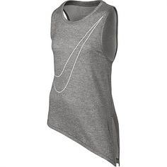 Rebel Sport - Nike Girls Side Tie Tank