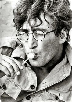 """Want to know when John Lennon started wearing those trademark round-rimmed glasses? Well, it all began with the character he played in the 1967 black comedy film How I Won the War, directed by Richard Lester. After the movie, he wore that style of spectacles for the rest of his life."" (Per Cynthia Lennon's 2005 book John, p. 191.)"