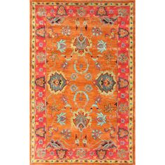 nuLOOM Remade Multi Montesque Area Rug & Reviews | Wayfair