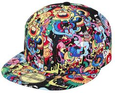 Jon Burgerman New Era hat