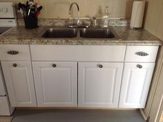 Hampton Bay Valencia 8 Ft. Laminate Countertop In Typhoon Ice