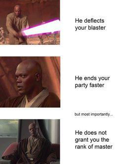 Star Wars Trivia, Star Wars Meme, Star Wars Facts, Funny Star Wars, Star Trek, Memes Humor, Funny Memes, 9gag Funny, Meme Comics