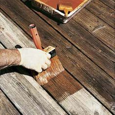 How to DIY repair soft boards and loose outer rails on your deck Restain Deck, Deck Staining, Deck Cleaning, Cleaning Tips, Deck Repair, Deck Makeover, Exterior Stain, Diy Deck, Decks And Porches