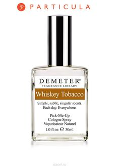 "духи-спрей ""Whiskey tobacco""/""Виски и табак"" от Demeter Fragrance Library/Деметр #вискиитабак #деметр #духиспрей #мужскойпарфюм"
