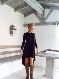 Black Asymmetric Dress - Blouse - Tunic / Black Dress / Asymmetric Plus Size Dress / Short Front Long Back Dress / #35025 This elegant and