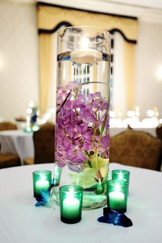 Reception Table Center Piece