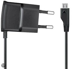 Dit heb ik gekocht bij bol.com: Samsung Micro USB oplader - Zwart - http://go.bol.com/pb/1001024189980649