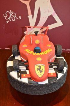 #Tarta de F1