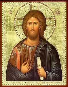 "Eastern Christian Supply — ""Vatopedi"" Icon of Christ Christ Pantocrator, Byzantine Icons, Catholic Saints, Son Of God, Orthodox Icons, Christian Art, Holy Spirit, Jesus Christ, History"