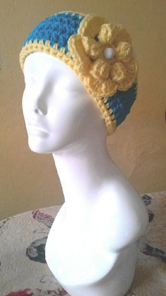 Spring is near Crochet head band by BlueWingsDesign on Etsy, $14.99