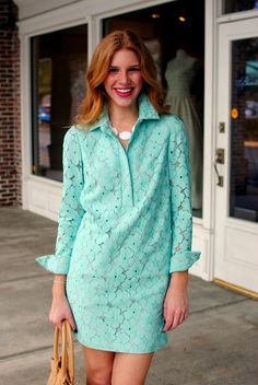 perfect DVF Easter dress