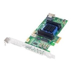 Adaptec 6405E 4-port SAS RAID Controller by Adaptec. $232.07. Manufacturer/Supplier: Adaptec, Inc Manufacturer Part Number: 2270800-R Brand Name: Adaptec Product Model: 6405E Product Name: 6405E 4-port SAS RAID Controller Marketing Information: 4 internal port, low-profile MD2 - Low Profile (2.535'H x 5.115'L) with PCIe x1, SAS 2.0 and Gen 2 PCI-Express (PCIe) Unified Serial RAID controller with On-Board DRAM and Intelligent Power Management delivers the ideal price/performance ...