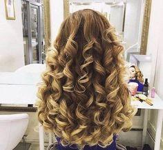 Правильный уход за волосами Big Curls For Long Hair, Long Curly Hair, Beautiful Long Hair, Gorgeous Hair, Curled Hairstyles, Pretty Hairstyles, Blonde Hair Designs, Pagent Hair, Blonde Hair Looks