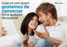 Familia.com.br | Tópicos para uma conversa interessante entre casais casados #Comunicacao #Casamento
