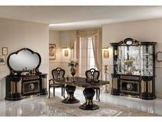 Diva Italian Designer Oval Dining Table with 6 Chairs Set! Click ...