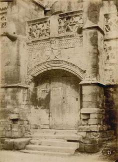 Caen, église du Vieux-Saint-Gilles, portail