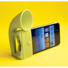 Phone-ograph: Amp up your tunes! #iPhone_Amplifier