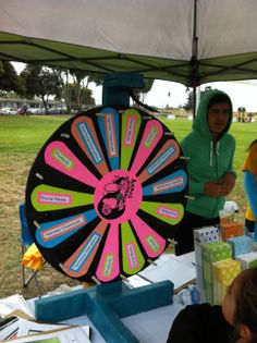 This is a great Wheel I saw in Salinas, CA, at the #farmworkerappreciation event. This wheel is by the Hermosa Study (Health and Environmental Research in Make-up of Salinas Adolescents).