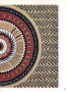 Black Africa, Vol. Ethnic Patterns, Textile Patterns, Print Patterns, Aboriginal Patterns, African Patterns, Arte Tribal, Tribal Art, African Textiles, African Fabric