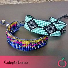 Coleção Étnica, para quem gosta de ousar!  #étnico #pulseiras #acessórios #hippie #boho #miçanças #bijouterias #fashion