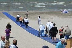 Mayor Cal Patterson and members of Wasaga Beach Town Council are pleased to announce the installation of ten 50 foot Mobi-Mat® RecPaths™ at Beach Areas 2 and 5 along the Wasaga Beach shoreline.