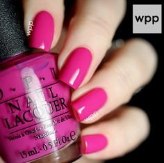 OPI Brights Collection - The Berry Thought of You. Swatches and Review : work / play / polish