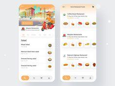 Food Order Recipe App by Abdullah Mamun Food Design, App Design, Order Food, Recipes, Instagram, Ripped Recipes, Application Design, Cooking Recipes