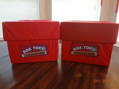 Box Tops collection Containers
