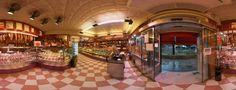 Interior de la pastelería Hernández en Villalba para hacer el tour virtual de Google.