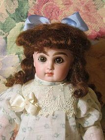 Irresistible Size 1 Tete Jumeau-Rare Closed Mouth - Emmie's Antique Doll Castle #dollshopsunited