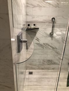At this hotel you don't need to go into the shower to turn it on