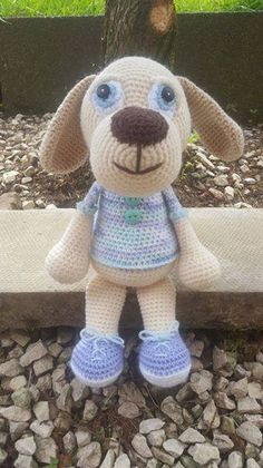 Puppy crochet pattern by Lovely Baby Gift