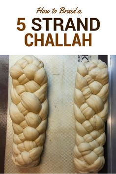 How to Braid a 5-Strand Challah - Kosher on a Budget